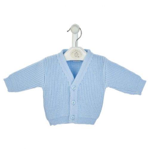 B108 knitted ribbed baby cardigans